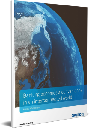 3D Cover_Avaloq Banking becomes a convenience in an interconnected world
