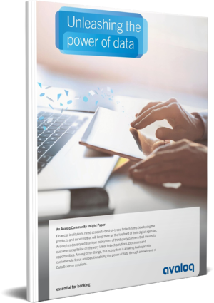 3D Cover_Avaloq Whitepaper Unleashing the power of data